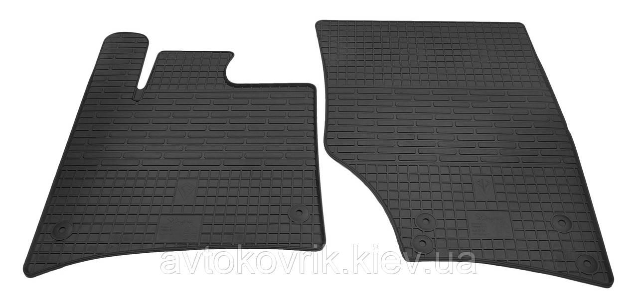 Резиновые передние коврики в салон Audi Q7 (4L) 2005-2015 (STINGRAY)