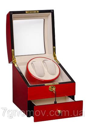 Шкатулка для подзавода часов, тайммувер для 2-х часов Rothenschild RS-721-CC, фото 2