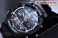 Мужские спортивные часы  S-Shock Skmei 0931 silver + ВІДЕО