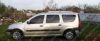 Рейлинги на Дачия Логан МСВ универсал (алюминиевые рейлинги Dacia Logan MCV разборные)