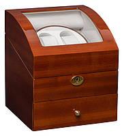 Шкатулка для подзавода часов, тайммувер для 2-х часов Rothenschild RS-721-SPA