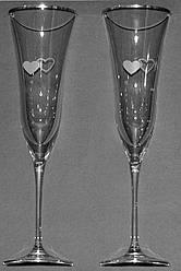 Набор свадебных бокалов Love