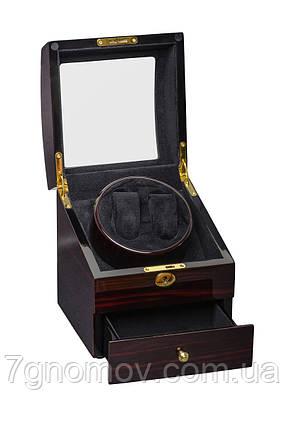 Шкатулка для подзавода часов, тайммувер для 2-х часов Rothenschild RS-721-EB, фото 2