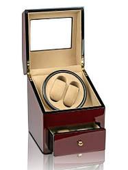 Шкатулка для підзаводу годинників, тайммувер для 2-х годинниківRothenschild RS-621-2-C