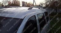 Оригинальные рейлинги Рено Логан универсал (рейлинги на крышу Renault Logan MCV концевик.АВС)