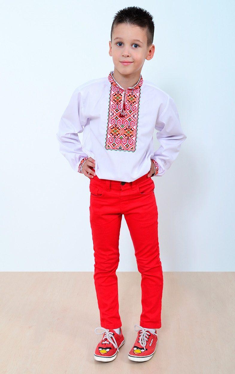 Детская вышиванка «Руна» с длинным рукавом - Оптово - розничный магазин  одежды