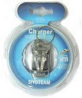 Универсальное зарядное устройство для мобильный акк-в, Siyoteam SY-CG312, USB (жабка)