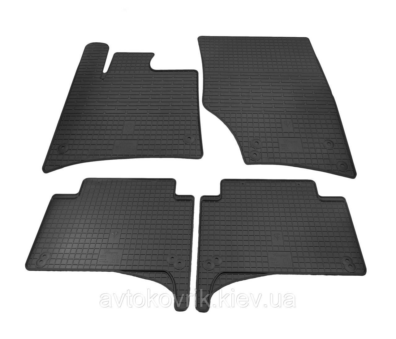 Резиновые коврики в салон Audi Q7 (4L) 2005-2015 (STINGRAY)