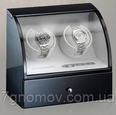 Шкатулка для підзаводу годинників, тайммувер для 2-хгодинників Rothenschild RS-322-2-B