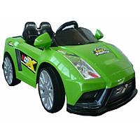 Детский электромобиль bambi lamborgini ch915 зеленый