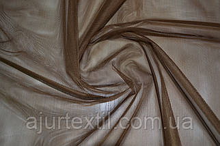 Тюль фатин темно коричневый, фото 2