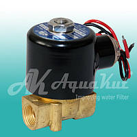 "Соленоидный электромагнитный клапан 3/8"" / 220v; SV-4; AquaKut"