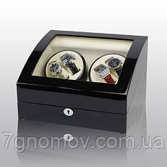 Скринька для підзаводу годин, тайммувер для 4-х годин Rothenschild RS-031BW-F
