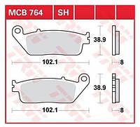 Тормозные колодки Honda Silver Wing TRW / Lucas MCB764SH