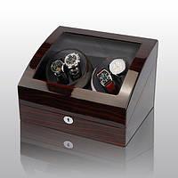 Шкатулка для подзавода часов, тайммувер для 4-х часов Rothenschild RS-031EB-F