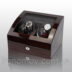 Скринька для підзаводу годин, тайммувер для 4-х годин Rothenschild RS-031EB-F