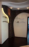 Стеклянные полки и зеркала , фото 1