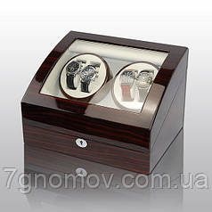 Скринька для підзаводу годин, тайммувер для 4-х годин Rothenschild RS-031EW-F