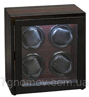 Шкатулка для подзавода часов, тайммувер для 4-х часов Rothenschild RS-54-4-BE, фото 2