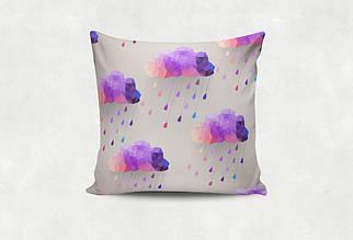 Подушка Сиреневый Дождь
