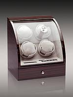Шкатулка для подзавода часов, тайммувер для 4-х часов Rothenschild RS-324-4-E