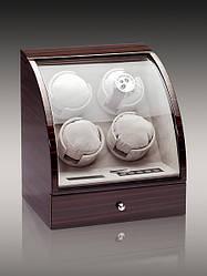 Скринька для підзаводу годин, тайммувер для 4-х годин Rothenschild RS-324-4-E