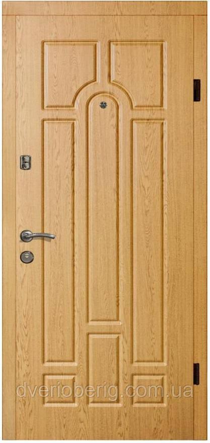 Входная дверь модель П2-217 ДУБ НАТУРАЛЬНЫЙ