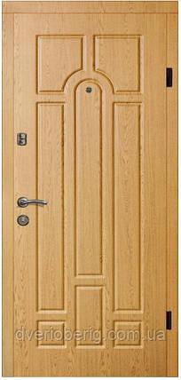 Входная дверь модель П2-217 ДУБ НАТУРАЛЬНЫЙ , фото 2