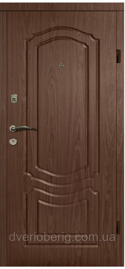 Входная дверь модель П2-206 ОРЕХ БЕЛОЦЕРКОВСКИЙ
