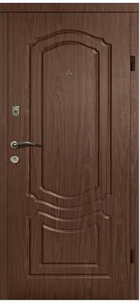 Входная дверь модель П2-206 ОРЕХ БЕЛОЦЕРКОВСКИЙ, фото 2