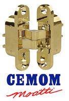 Скрытая петля Cemom правая / левая (60кг) латунь