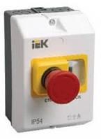 """Защитная оболочка с кнопкой Стоп"""" IP55 ИЭК"""""""