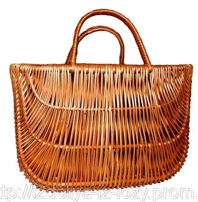 Этнические плетеные сумки из лозы для женщин