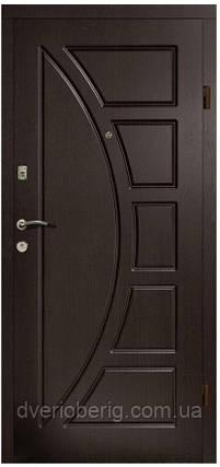 Входная дверь модель П2-320 ТЕМНЫЙ ОРЕХ, фото 2