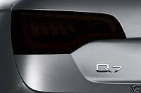 """Альтернативная оптика для Audi Q7 """"07 , LED тонированный черный (тюнинг оптика, цена за комплект)"""