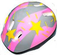 Детский защитный шлем - розовый