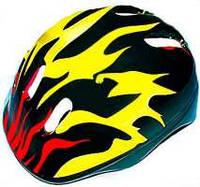 Детский защитный шлем - черный