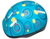 Детский защитный шлем - голубой