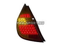 Альтернативная оптика для HYUNDAI I30 `09-`12, фонари задние, светодиодные, тонированные (тюнинг оптика, цена за комплект)