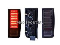 Альтернативная оптика для HAMMER `03-`07 T/L, фонари задние,светодиодные, тонированные хром NO (тюнинг оптика, цена за комплект)