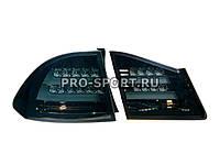 Альтернативная оптика для HONDA CIVIC 4D '06-`11, T/L, фонари задние, светодиодные, тонированный (тюнинг оптика, цена за комплект)