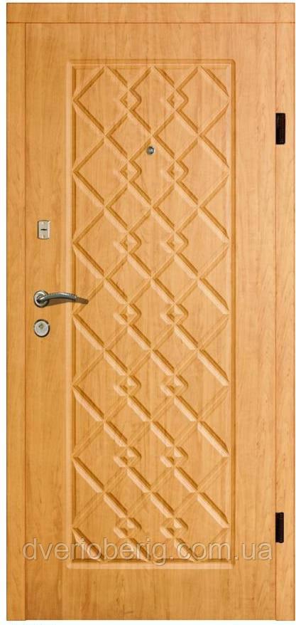 Входная дверь модель П4-156 ОЛЬХА ЯНТАРНАЯ