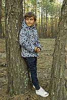 Куртка-жилет для мальчика утеплённая р.110-128