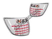 Альтернативная оптика для Фонари задние LADA GRANTA 2190, светодиодные, хром (тюнинг оптика, цена за комплект)