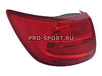 Альтернативная оптика для Фонари задние LADA GRANTA 2190, красные (тюнинг оптика, цена за комплект)