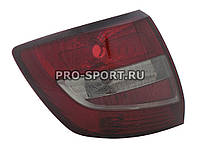 Альтернативная оптика для Фонари задние LADA GRANTA 2190, тонированные, красные (тюнинг оптика, цена за комплект)
