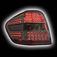Альтернативная оптика для MB W164 '06- M-class T/L, фонари задние,светодиодные, тонированный (тюнинг оптика, цена за комплект)