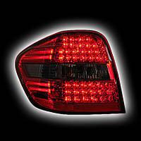 Альтернативная оптика для MB W164 '06- M-class T/L, светодиодные, тонированный красный BZ089-BUDE2 (тюнинг оптика, цена за комплект)