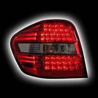 Альтернативная оптика для MB W164 '06- M-class T/L, светодиодные, красный (тюнинг оптика, цена за комплект)