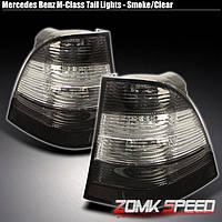 Альтернативная оптика для MB ML `98-`05 M-Class кристальный/тонированный (тюнинг оптика, цена за комплект)